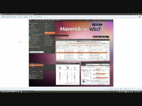 How to get the Linux Theme For Windows 7 - YouTube