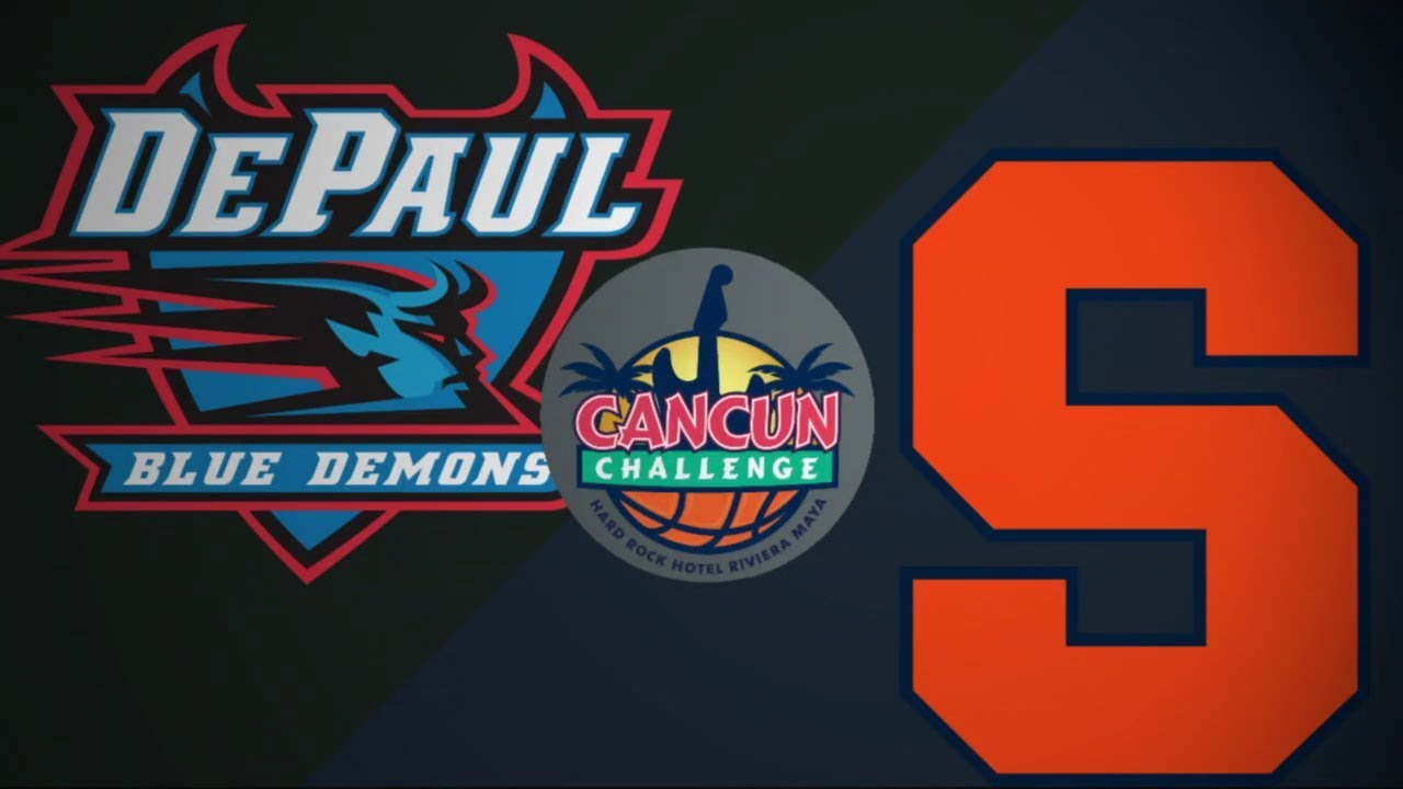 2018 Cancun Challenge   DePaul vs Syracuse (Pt 2)