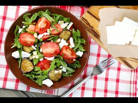 recette-:-salade-d'aubergines,-tomates-et-feta