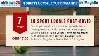 Lo sport locale post-covid - quarta puntata