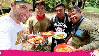 Surinamese JUNGLE FOOD + Jungle Trek to the POTI HILL   Palumeu, Suriname