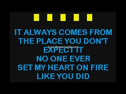 That s How You Know When Love s Right Duet   S Wariner  N Larson HD Karaoke PK00483