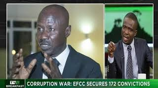 TVC Breakfast 26th October 2018 | Corruption War: EFCC secures 172 Convictions
