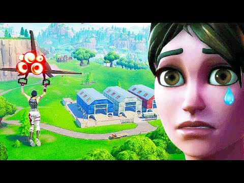 dropping Dusty Depot for the last time in Fortnite...