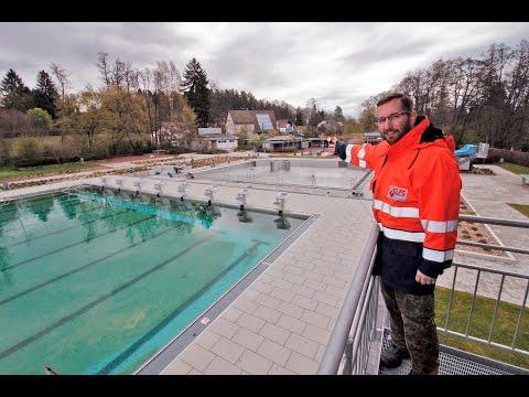 Saisonvorbereitung im Villinger Kneippbad - Rundgang mit Schwimmmeister Krapf