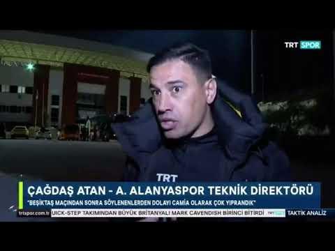 Çağdaş Atan'dan itiraf:Beşiktaş maçından sonra söylenenlerden dolayı Alanyaspor camiası çok yıprandı