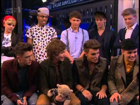 Union J and District 3 do battle in The X Factor 2012 boyband Quiz