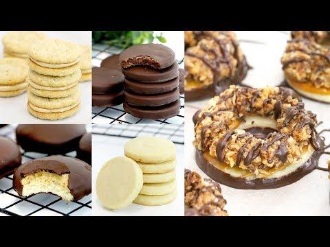5 DIY Girl Scout Cookie Recipes | Samoas, Tagalongs, Do-Si-Dos, Thin Mints & Trefoils | RECIPE