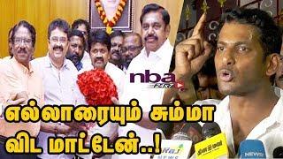 எல்லாரையும் சும்மா விட மாட்டேன் | Will Fight Till End -Vishal | Producer Council |nba 24x7