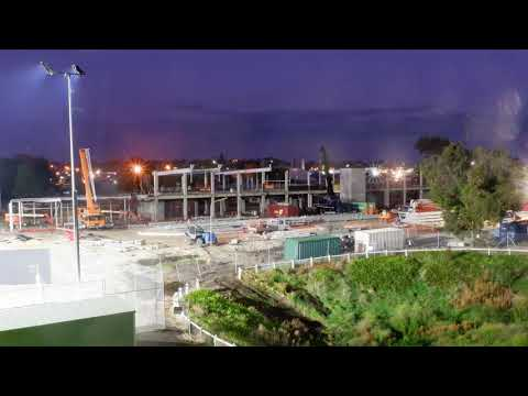 Wulanda Recreation and Convention Centre - Construction Time-lapse April 2021