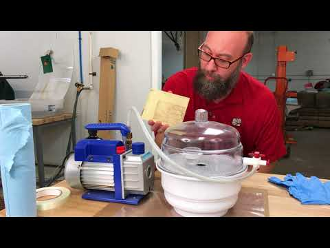 How to Mix and use HXTAL NYL-1 to laminate glass