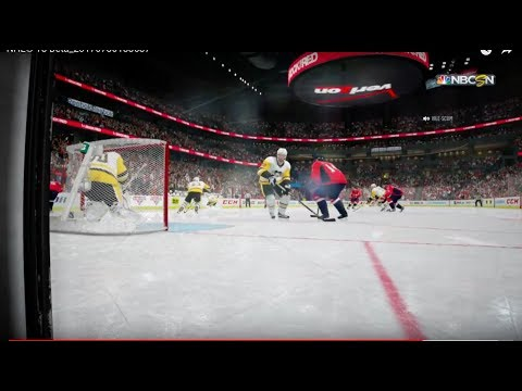 NHL® 18 Beta Penguins at Capitals Part 2