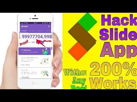 Slide App hack 1000%Proof live Demo