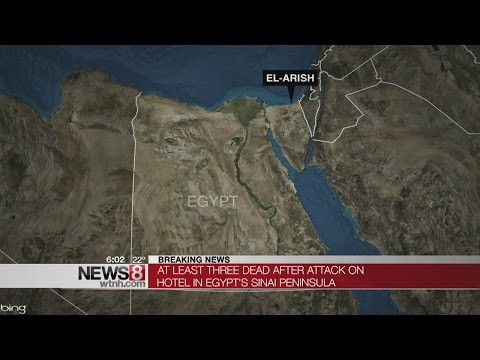 Elaborate attack in Egypt's Sinai kills 2 police, judge