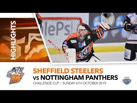 Sheffield Steelers V Nottingham Panthers - Challenge Cup - 6th October 2019