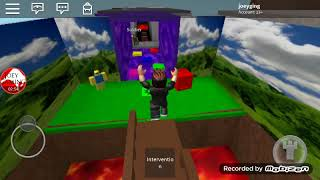 Joey gaming Obby a Roblox game I created