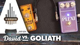 """""""david Vs Goliath"""" - Tone City Golden Plexi Vs Lovepedal Purple Plexi"""
