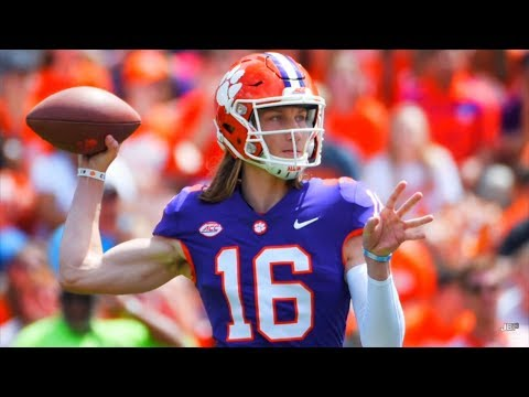 The Next Great College QB in College Football || Clemson QB Trevor Lawrence 2018 Highlights ᴴᴰ