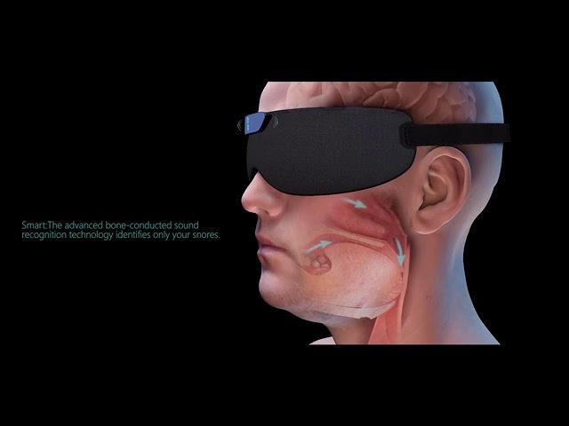 Smart Snore Eye Mask video thumbnail