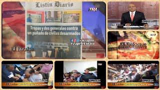Como lo hacía Balaguer, Danilo reprime a sus opositores | El Jarabe Seg-2 25-06-19