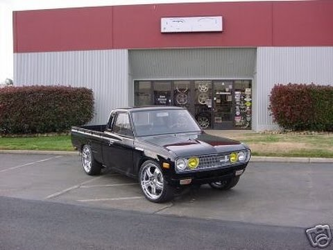 PRT 3 DATSUN 620 PICKUP TRUCK PROJECT CUSTOM MINI JDM