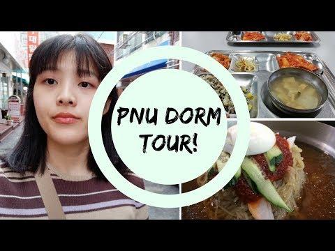MILMYEON 🍜, ORIENTATION, PNU DORM ROOM TOUR 😄 // busan: episode 3