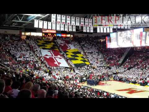 Maryland Pride timeout Georgetown game