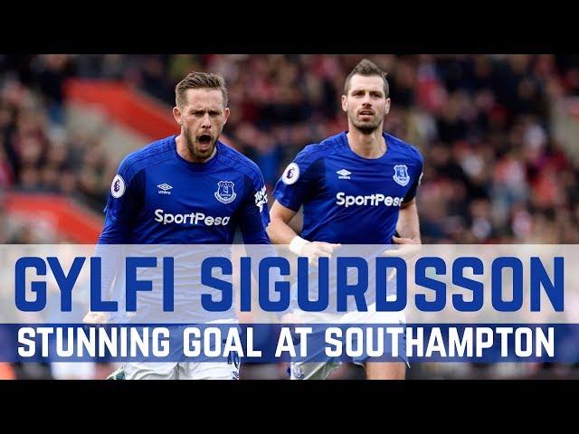GYLFI SIGURDSSON: STUNNING GOAL AT SOUTHAMPTON