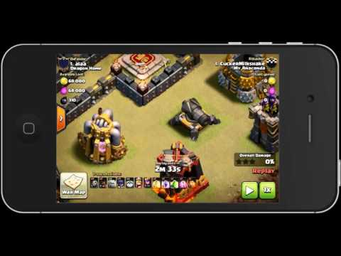 Clash of Clans - HACKERS SPOTTED