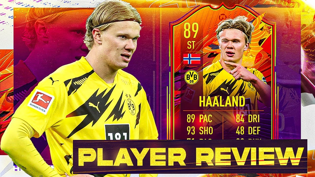 HEADLINER ERLING HAALAND 89 OVERALL PLAYER REVIEW! IS HE WORTH IT? FIFA 21 - YouTube
