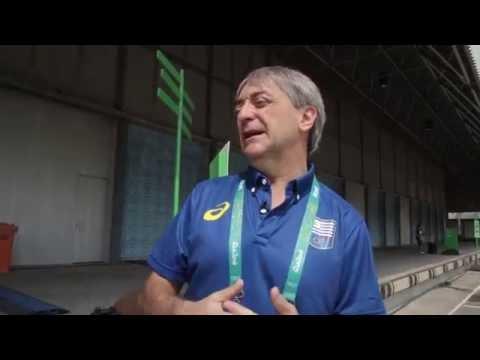 Secretario Nacional del Deporte, Profesor Fernando Cáceres.
