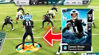 SIGNATURE CARSON WENTZ LED ME TO THE SUPERBOWL! - Madden 20 Ultimate Team