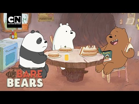 Preparing For Winter - Sneak Peek I We Bare Bears I Cartoon Network