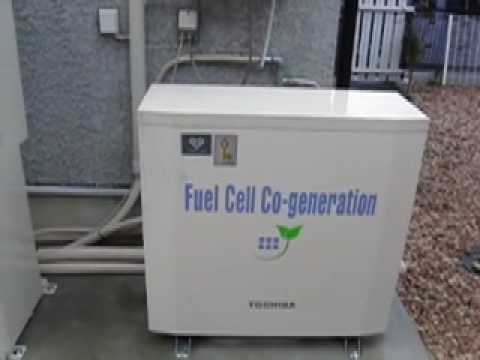 Home Hydrogen Generator >> Life with a home fuel cell - YouTube