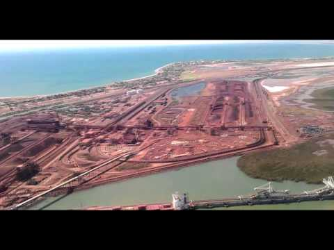 Perth to Port Hedland - QF1128