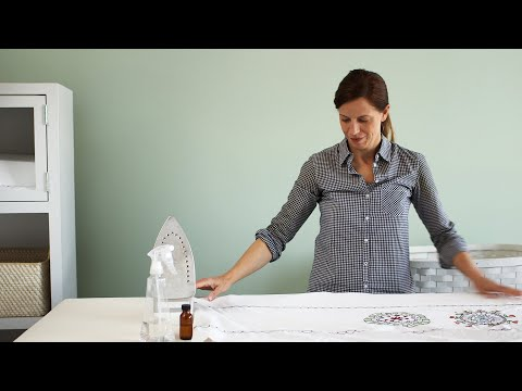 How To Iron A Raised Duvet Cover - Martha Stewart
