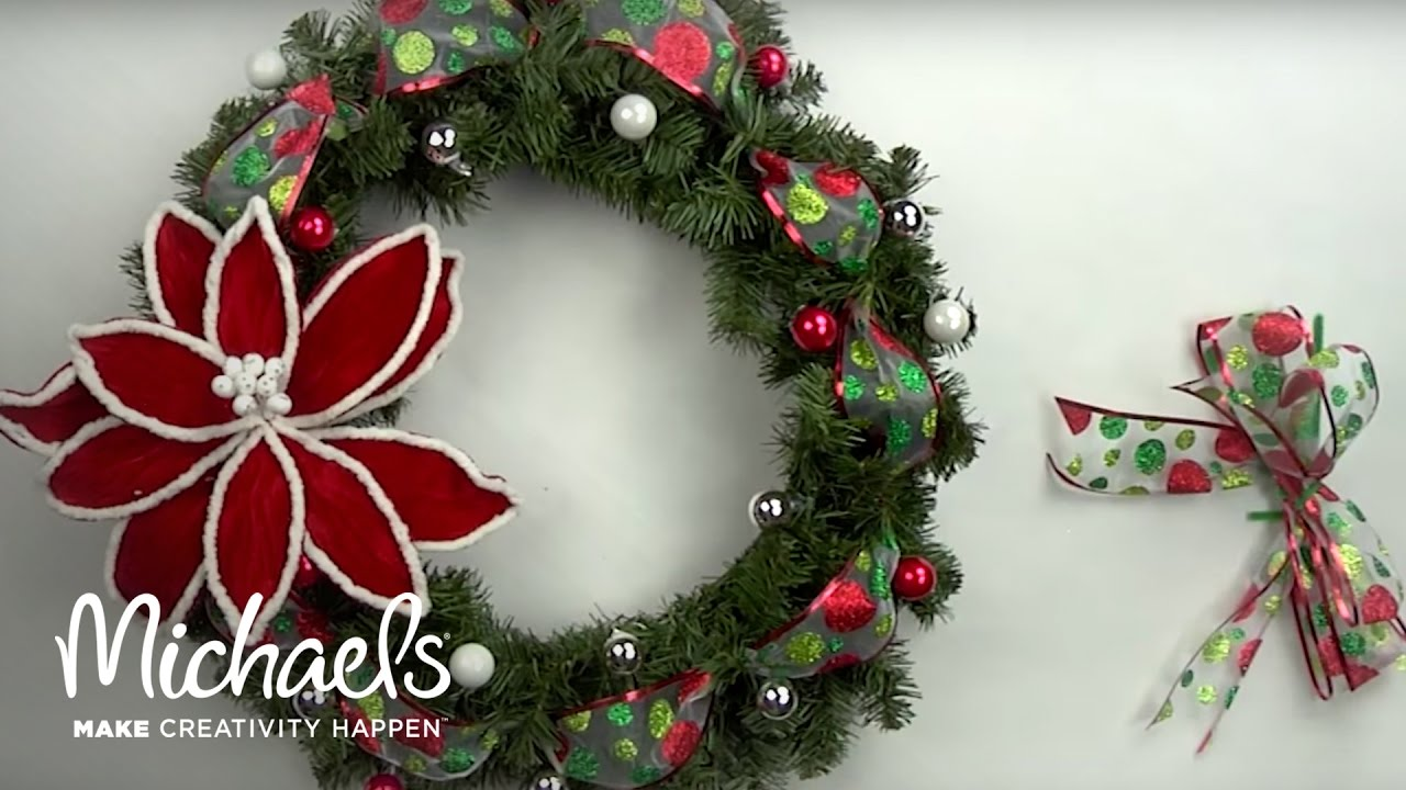 Diy Holiday Wreath Michaels