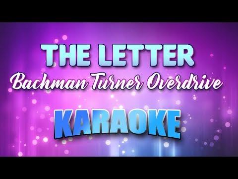 Letter, The (Karaoke & Lyrics)