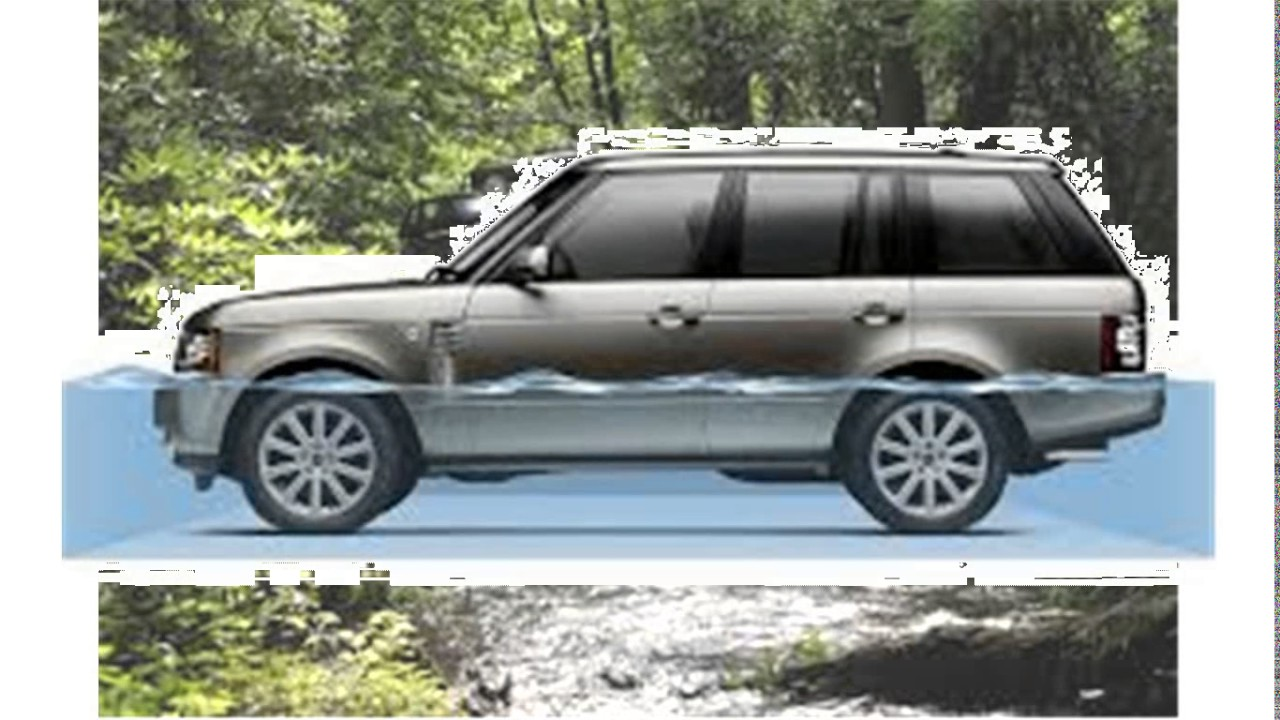Range Rover In Water