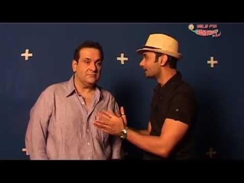Rajiv Kapoor in Radio Mirchi Studios with RJ Anmol!