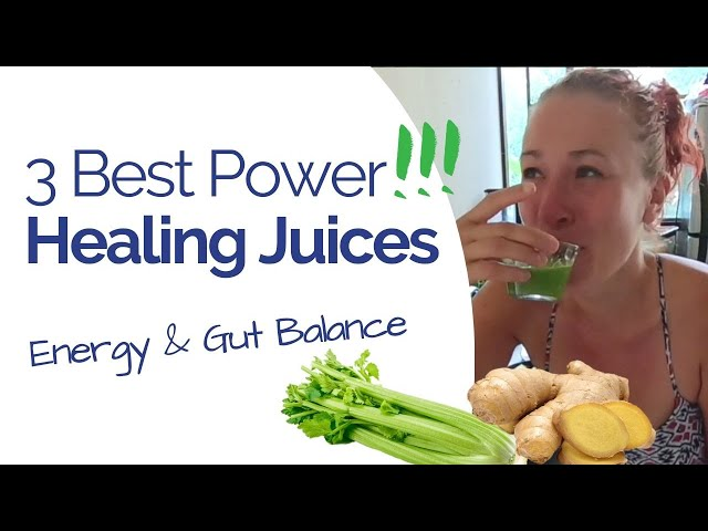 3 Juices to Heal Gut Struggle, Boost Your Energy & Balance Hormones