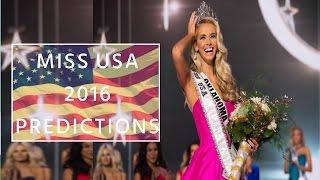 Miss USA 2016 Predictions