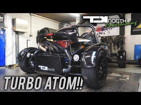 402BHP TURBO CHARGED ARIEL ATOM!!! *STUPID FAST!!*