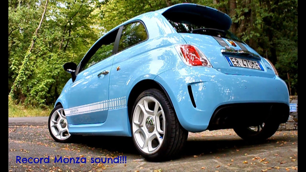 500 Abarth Quot Azzurro Leggenda Quot With Record Monza Youtube