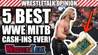 5 BEST WWE Money In The Bank Cash-Ins!