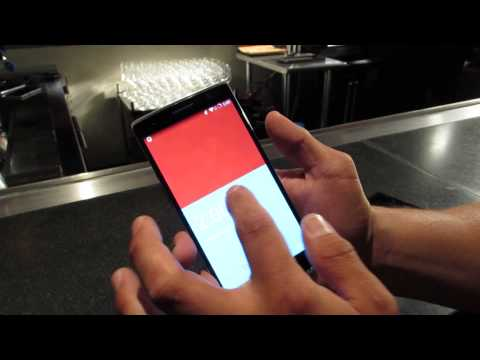 OnePlus One With CyanogenMod 11s In Action (Video)
