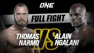Thomas Narmo vs. Alain Ngalani   ONE Championship Full Fight