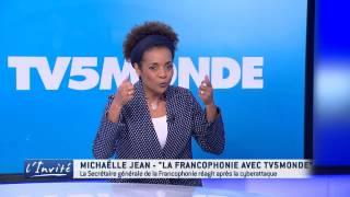 """Michaëlle JEAN : """"Soutien à TV5MONDE après la cyberattaque"""""""
