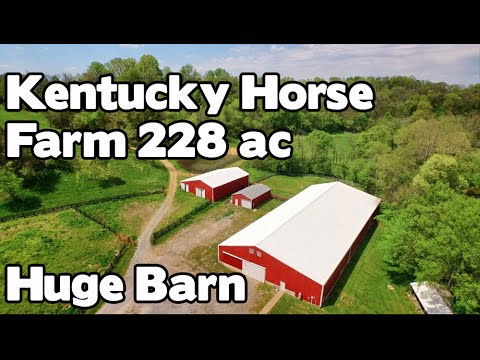 Kentucky farm land, Cattle Ranch, Horse barns, 4 ponds and River