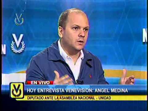 Entrevista Venevisión: Ángel Medina, diputado de la AN-Unidad